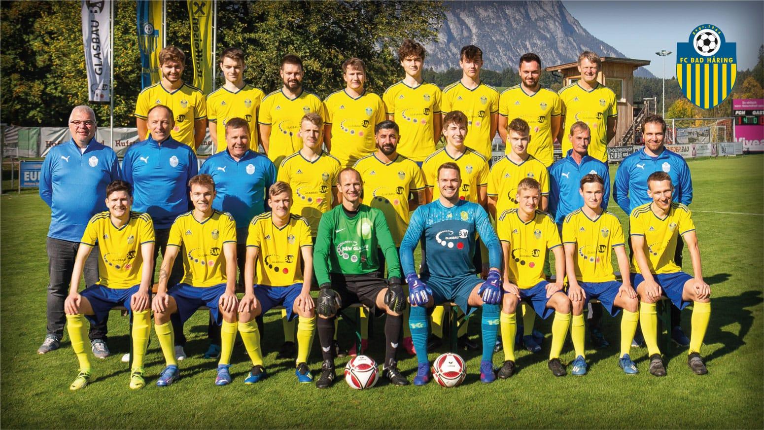 Kampfmannschaft FC Bad Häring 2021